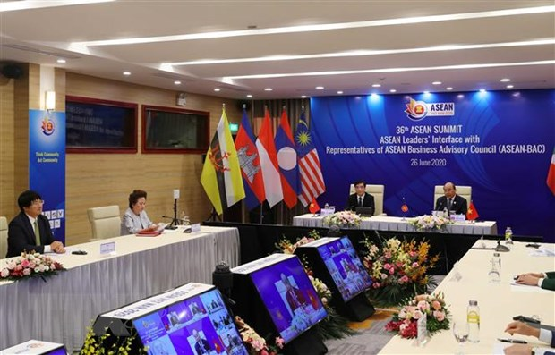 ASEAN 2020: Thu tuong Lao danh gia cao su hop tac trong noi khoi hinh anh 1