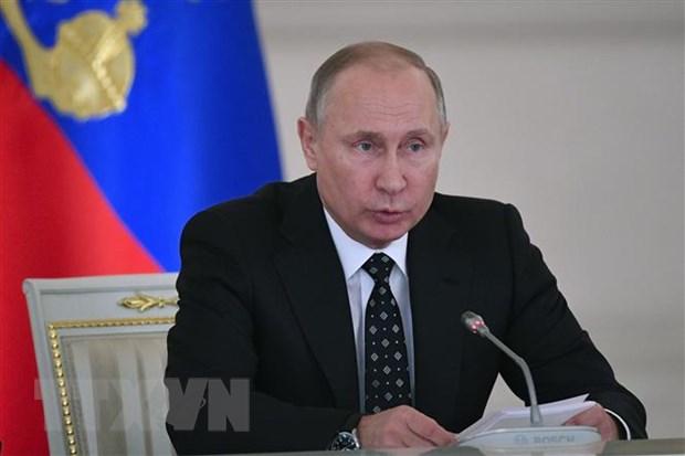 Tong thong Putin: Cuoc doi dau ve kinh te tren the gioi se tiep tuc hinh anh 1
