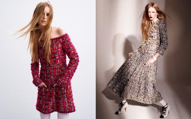 Chanel haute couture: Nhung nang cong chua punk kieu diem, noi loan hinh anh 11