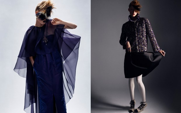 Chanel haute couture: Nhung nang cong chua punk kieu diem, noi loan hinh anh 13