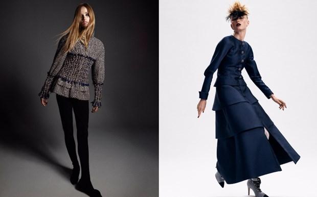 Chanel haute couture: Nhung nang cong chua punk kieu diem, noi loan hinh anh 15