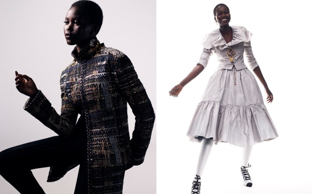 Chanel haute couture: Nhung nang cong chua punk kieu diem, noi loan hinh anh 16