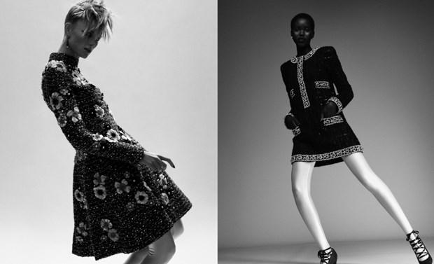 Chanel haute couture: Nhung nang cong chua punk kieu diem, noi loan hinh anh 4