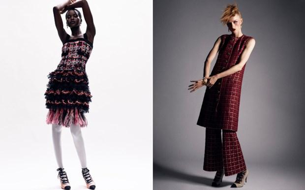 Chanel haute couture: Nhung nang cong chua punk kieu diem, noi loan hinh anh 7