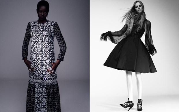 Chanel haute couture: Nhung nang cong chua punk kieu diem, noi loan hinh anh 8