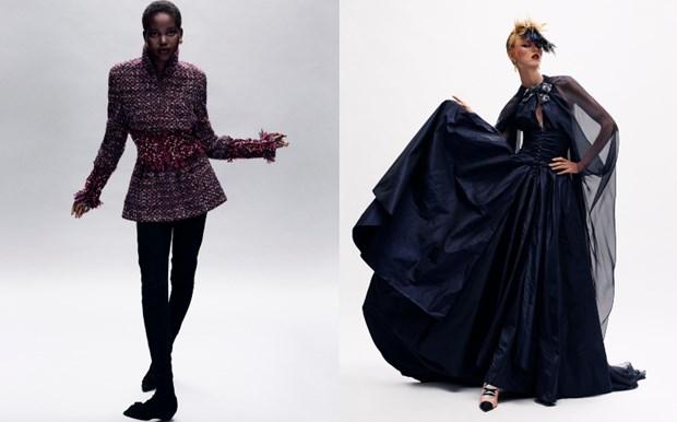 Chanel haute couture: Nhung nang cong chua punk kieu diem, noi loan hinh anh 9
