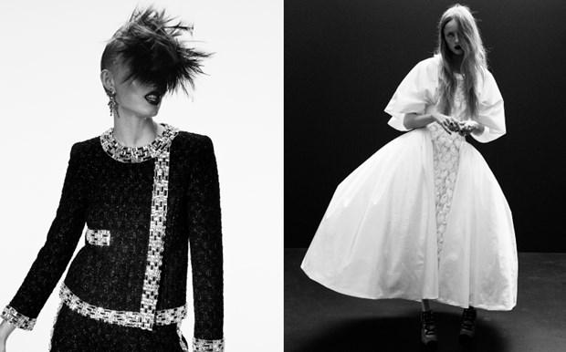 Chanel haute couture: Nhung nang cong chua punk kieu diem, noi loan hinh anh 10