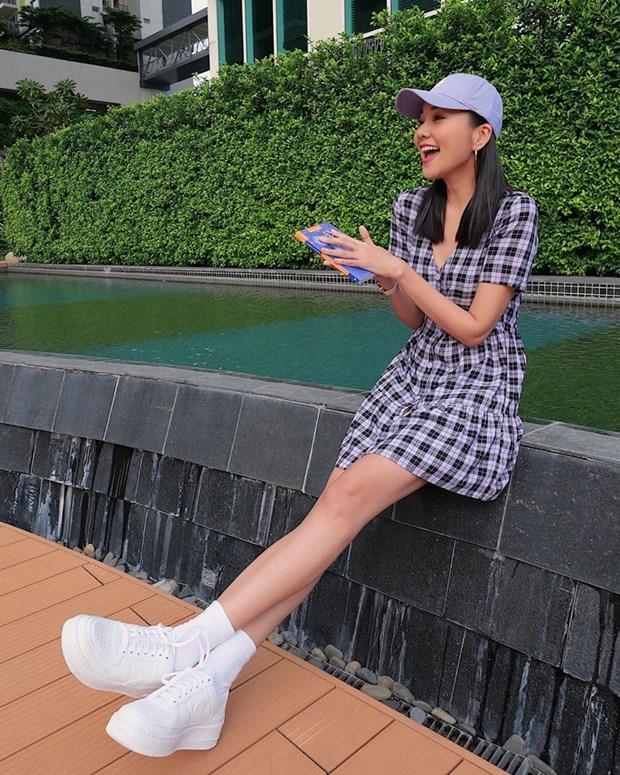 Thanh Hang, Ha Ho do street style nu tinh cung dan my nhan Viet hinh anh 2