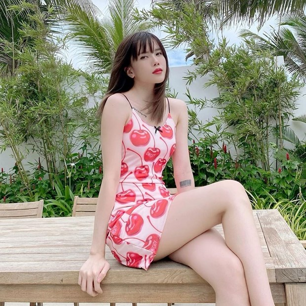 Thanh Hang, Ha Ho do street style nu tinh cung dan my nhan Viet hinh anh 6