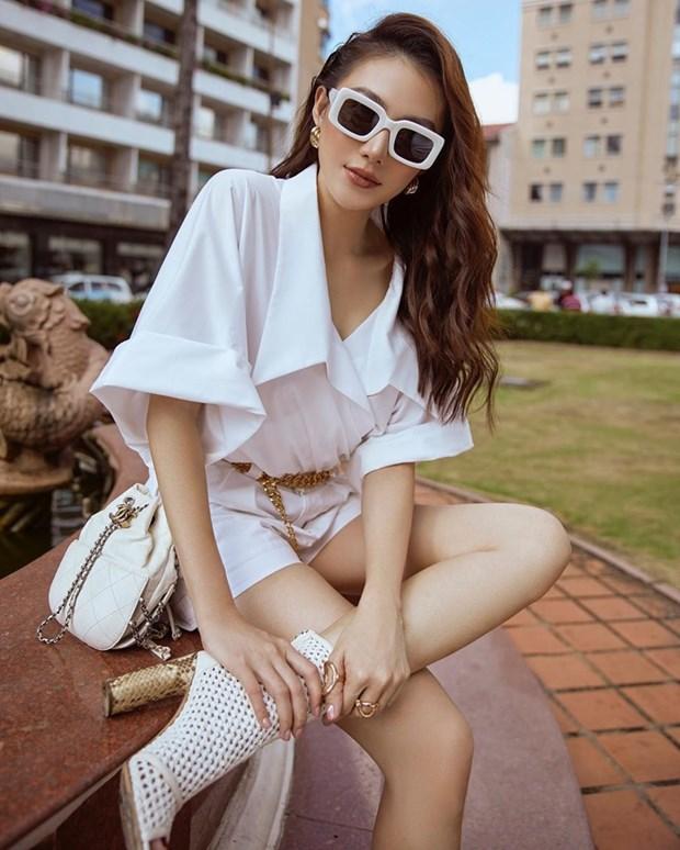 Thanh Hang, Ha Ho do street style nu tinh cung dan my nhan Viet hinh anh 12