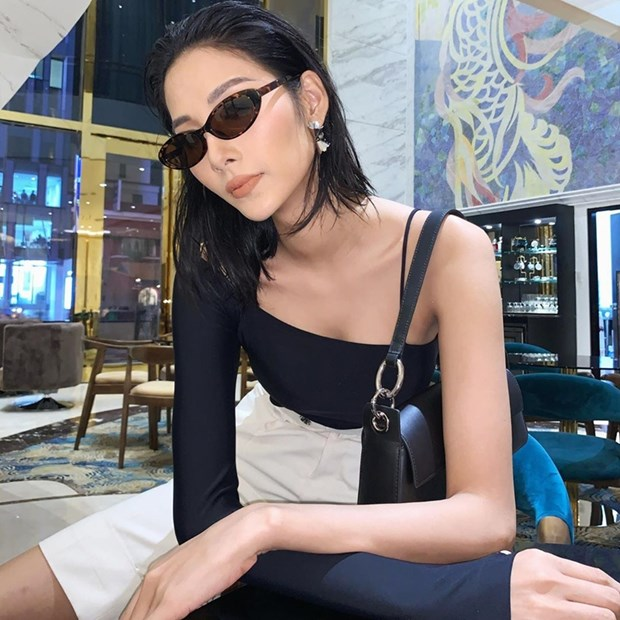 Thanh Hang, Ha Ho do street style nu tinh cung dan my nhan Viet hinh anh 11