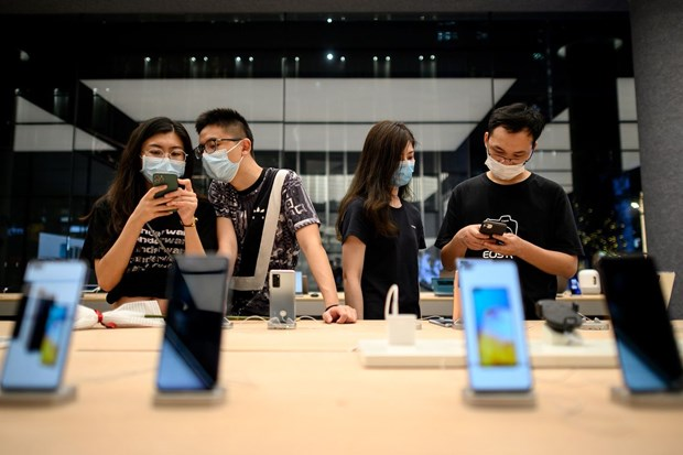 Soan ngoi Samsung, Huawei la nha ban dien thoai thong minh so 1 hinh anh 1