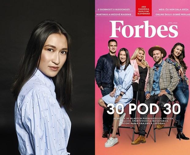 Co gai goc Viet lot top Forbes 30 Slovakia: Pho la soi day lien ket hinh anh 1