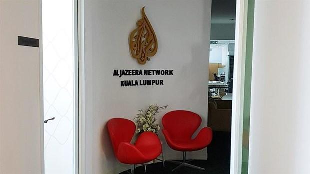 Canh sat Malaysia kham xet van phong hang tin Al Jazeera hinh anh 1