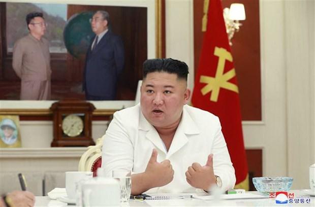 Trieu Tien dieu phoi hang vien tro toi Kaesong dang bi phong toa hinh anh 1