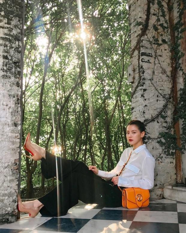 My nhan Viet, chau A phai long ve dep cua mau tui Louis Vuitton pont 9 hinh anh 10