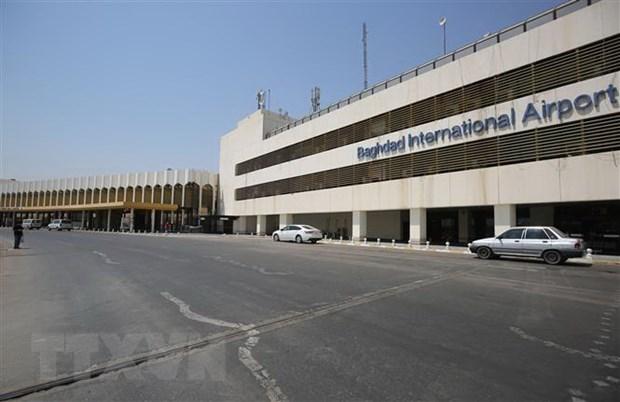 Iraq: Khu vuc san bay thu do Baghdad lai bi tan cong bang ten lua hinh anh 1