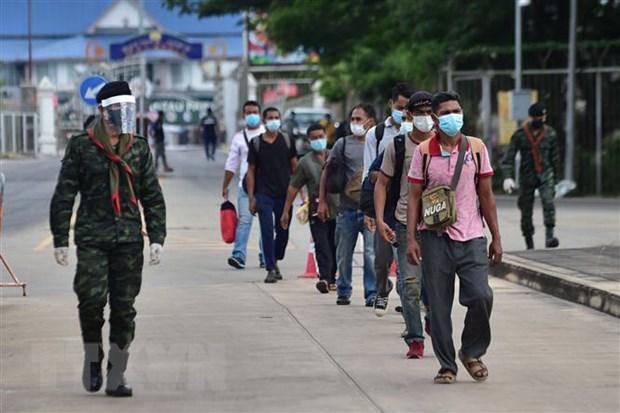 Thai Lan tam thoi dong cac cua khau bien gioi voi Myanmar hinh anh 1