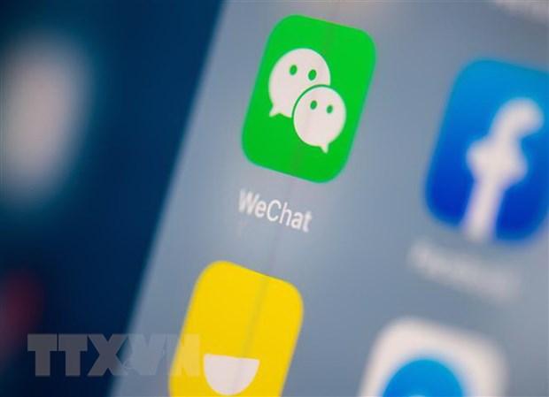 My: Toa an California chan lenh cam tai WeChat cua chinh phu hinh anh 1