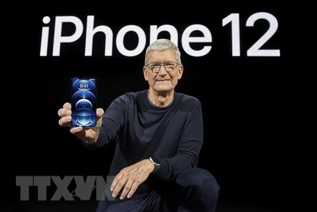 Hang Apple tam thoi dong cua 17 tren 20 cua hang o Phap hinh anh 1