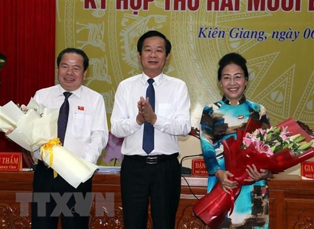 Kien Giang tien hanh bau Chu tich HDND va Chu tich UBND hinh anh 1