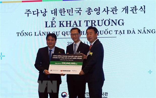Khai truong Tong Lanh su quan Han Quoc tai thanh pho Da Nang hinh anh 2
