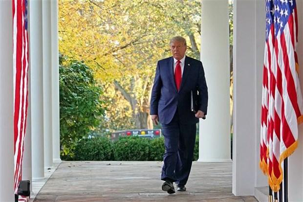 Tong thong My Donald Trump gui thong diep cho nguoi sap ke nhiem hinh anh 1