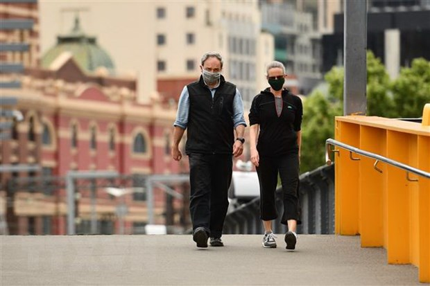 Australia: Xuat hien o dich COVID-19 moi tai thanh pho Adelaide hinh anh 1
