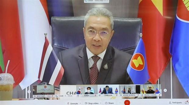 ASEAN+3 ve cac van de cong vu dien ra theo hinh thuc truc tuyen hinh anh 1