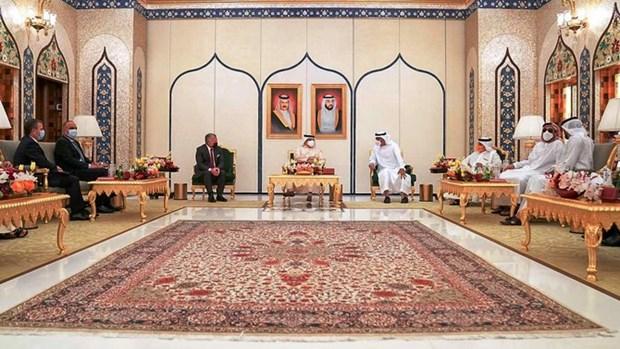 Jordan, Bahrain va UAE thao luan cac van de ve Palestine hinh anh 1