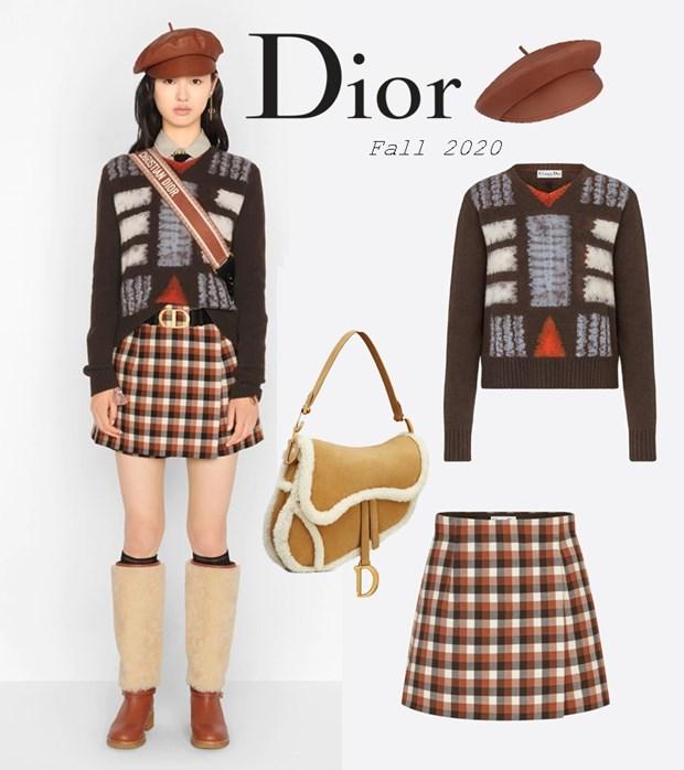 Chau Bui dung hang nguyen set Dior voi loat my nhan dinh dam hinh anh 16