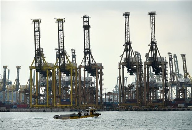 Singapore: GDP quy 3 giam thap hon nho lenh phong toa duoc noi long hinh anh 1