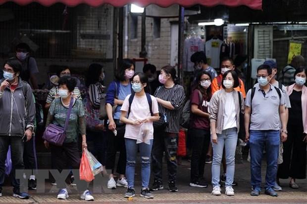 Hong Kong: So ca nhiem vuot 6.000, nhieu ca khong ro nguon goc hinh anh 1