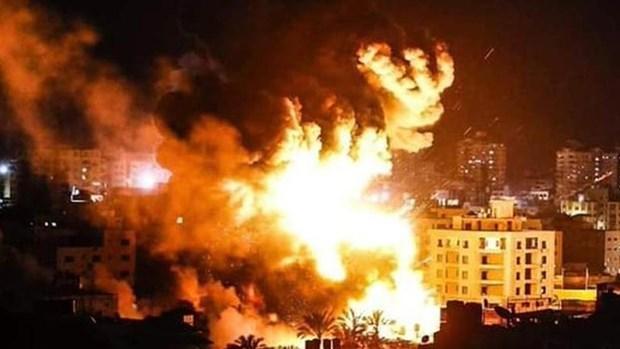 Palestine keu goi HDBA ngan chan cac vu tan cong cua Israel hinh anh 1