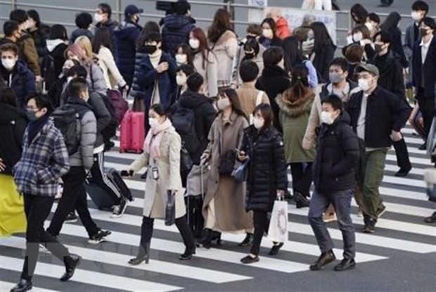Dich COVID-19: So ca mac moi tai Tokyo len muc ky luc gan 1.600 nguoi hinh anh 1