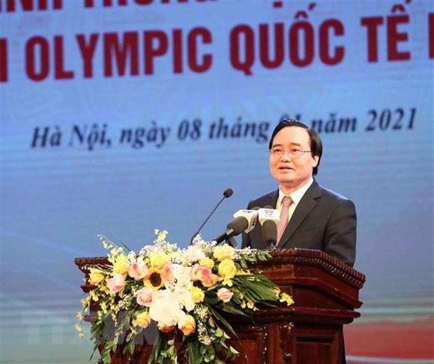 Thu tuong tuyen duong hoc sinh Trung hoc doat giai Olympic quoc te hinh anh 3