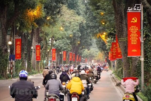 Ha Noi chinh trang do thi phuc vu Dai hoi Dang toan quoc lan thu XIII hinh anh 1