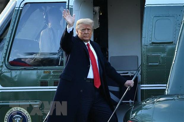 Tong thong My Donald Trump thu hoi sac lenh cam van dong hanh lang hinh anh 1