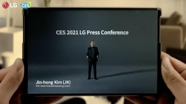 LG co the tu bo ke hoach phat trien smartphone co kha nang cuon lai hinh anh 1