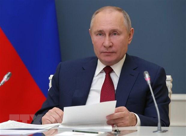 Tong thong Putin: Nga van doi mat voi nhung moi de doa tu ben ngoai hinh anh 1