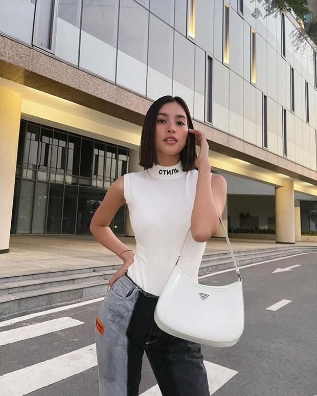 Tan chay voi street style