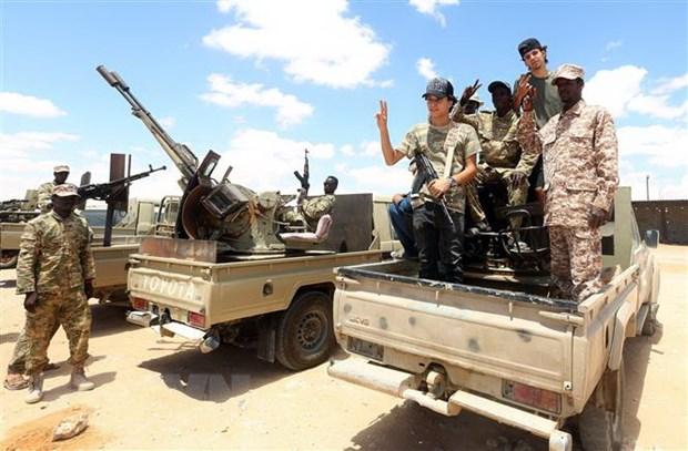 Libya yeu cau luc luong linh danh thue nuoc ngoai lap tuc rut quan hinh anh 1