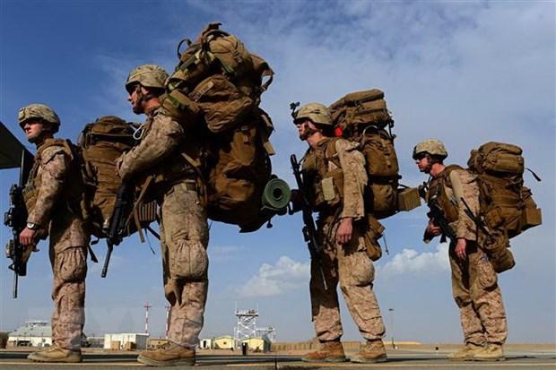 Binh sỹ Mỹ tại Afghanistan. Ảnh: AFP/TTXVN