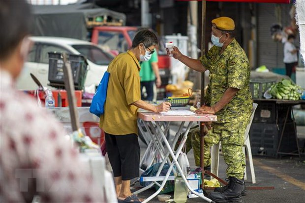 Malaysia ghi nhan so ca mac COVID-19 cao ky luc trong ba thang hinh anh 1