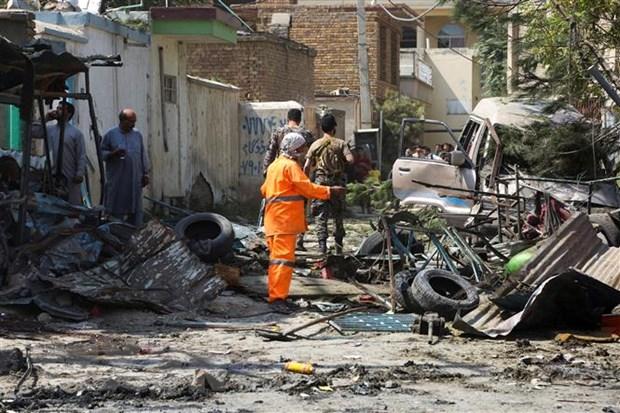 Pakistan kich liet len an vu danh bom truong hoc o Afghanistan hinh anh 1