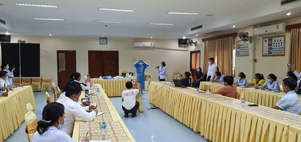 COVID-19: Lao danh gia cao kinh nghiem chuyen gia Viet Nam chia se hinh anh 4