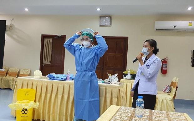 COVID-19: Lao danh gia cao kinh nghiem chuyen gia Viet Nam chia se hinh anh 1