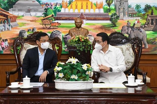 COVID-19: Lao danh gia cao kinh nghiem chuyen gia Viet Nam chia se hinh anh 2