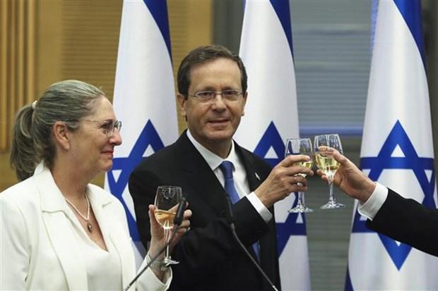 Ong Isaac Herzog duoc bau lam tong thong thu 11 cua Israel hinh anh 1