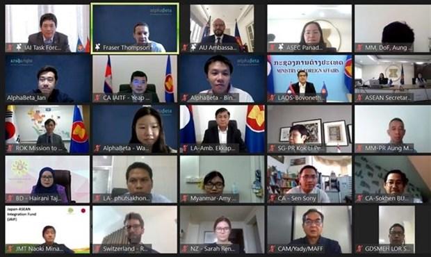 Dien dan trien khai Sang kien lien ket ASEAN giai doan 2021-2025 hinh anh 1